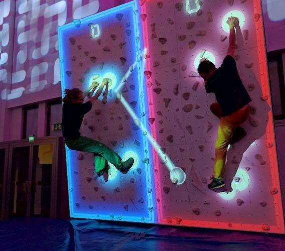 augmented wall climbing